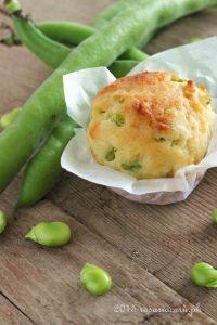 Muffins Fave Lardo e Pecorino