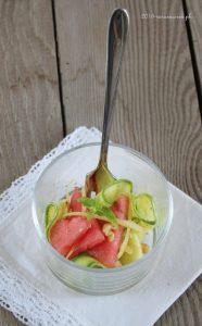 Insalatina di Anguria e Zucchine