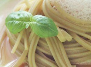 Linguine al pomodoro e basilico